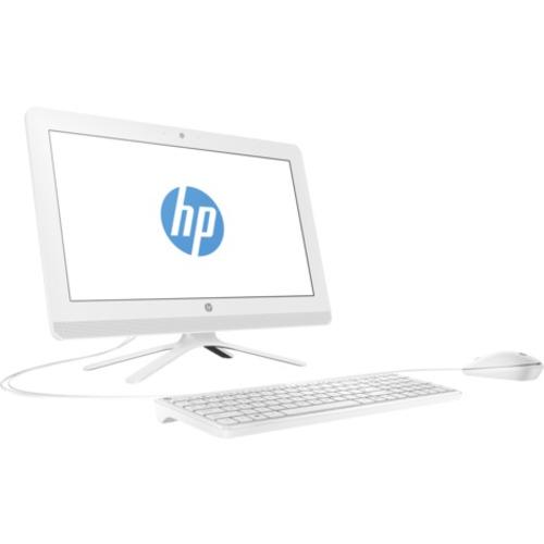 "HP All-in-One 19.5"" Intel Celeron Memoria RAM 4 GB/Disco Duro 1 TB Blanco"