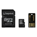 MEMORIA SD 16GB  KIT KINGSTON