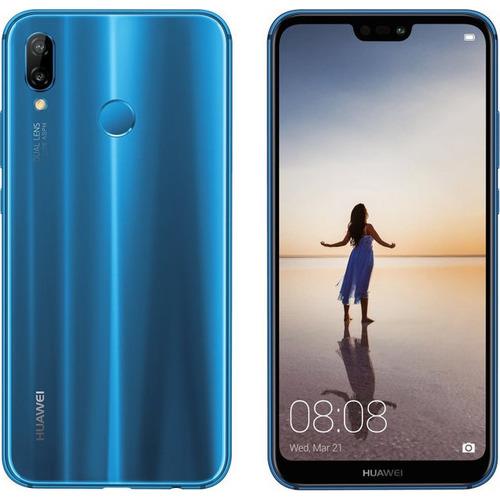 802749ccf02 Huawei P20 Lite Azul 32GB Procesador Octa Core
