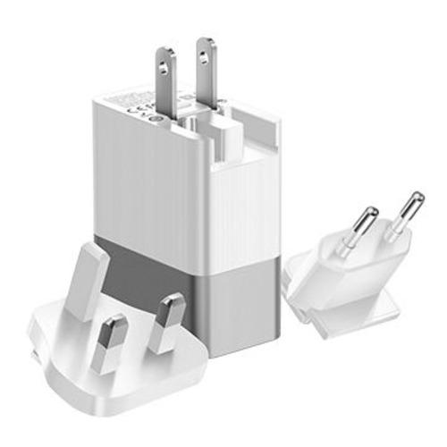 Cargador con Puertos USB (3) (Incluye Adaptadores US/UK/EU PLUG) Mcdodo