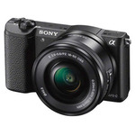 Cámara Fotográfica Sony α5100 con Montura E y Sensor APS-C Negro