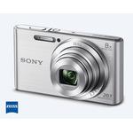 Cámara Compacta Sony W830 20.1 MP con Zoom Óptico de 8x Silver
