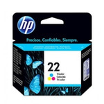 Cartucho de Tinta HP Tri- Color 22