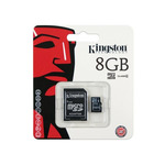MEMORIA  KINGSTON MICRO SD 8GB CLASE 4 SDCHC