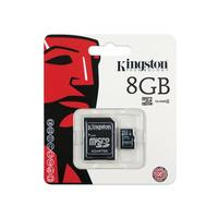 MEMORIA  KINGSTON MICRO SD 8GB CLASE 4 SDCHC