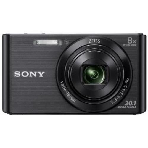 Cámara Compacta Sony W830 20.1 MP con Zoom Óptico de 8x Negro