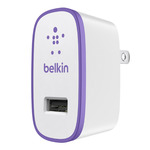 Cargador de pared Belkin MIXIT USB Morado
