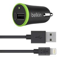Belkin Cargador de carro BOOST UP con cable de carga y sincronización
