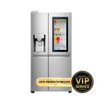 Refrigeradora LG Instaview de 23 pies estilo side-by-side