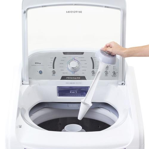 Lavadora Frigidaire de 20 Kg con agitador Blanca