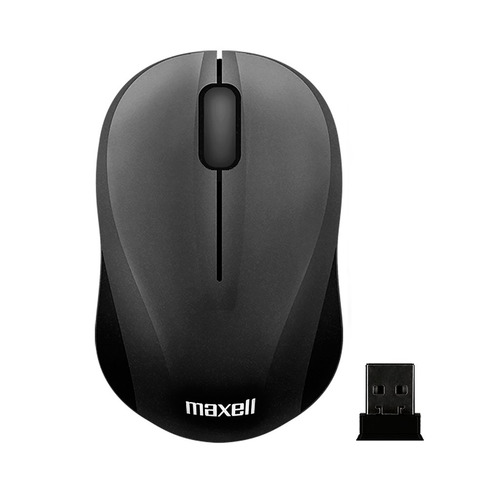 Maxell Mouse Inalámbrico Mowl C Negro