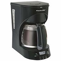 Cafetera Proctor  Silex 12 tazas Negra