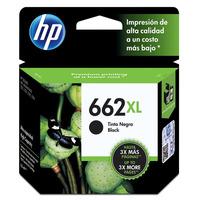 Cartucho de Tinta HP Negro 662 XL