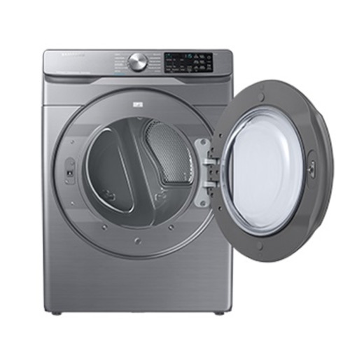Secadora Samsung de 22 Kg color platino