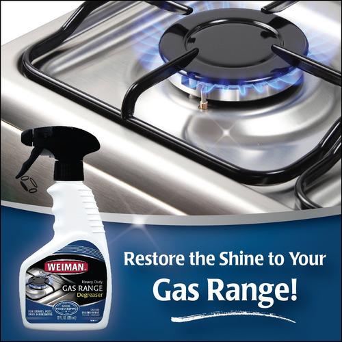 Spray limpiador para estufas a gas marca WEIMAN