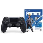 Sony Control DualShock 4 con Pase Juego Fortnite Negro
