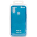 Clear cover blue samsung A10S | GP-FPA107KDALW