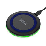 Yootech Cargador Inalámbrico Pad Azul