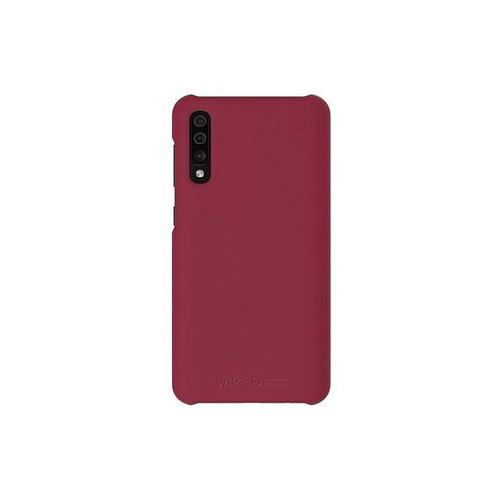 Samsung Premium Hard Cover para Samsung A30S Rojo Vino