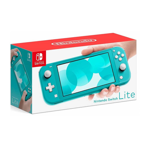 Nintendo Switch Lite Memoria Interna 32GB Turquesa