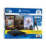 Consola PS4 con 3 Juegos MEGAPACK 6