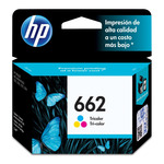 Cartucho de Tinta HP Tri- Color 662