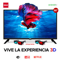 "Smart TV RCA LED 32""/ RC32-A21S"