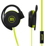 Audífonos EC-155 Ear Clip Flat Cable W/mic Lime Maxell