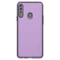 Clear cover purple Samsung A20S  | GP-FPA207KDAEW