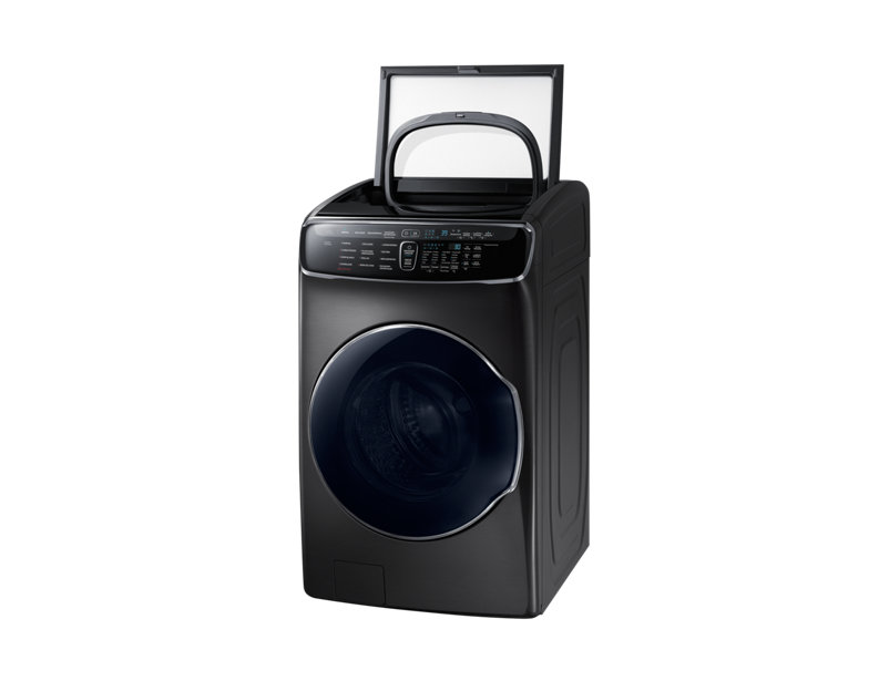 Lavadora Samsung  Carga Frontal Flex 24Kg+3 Kg Negra