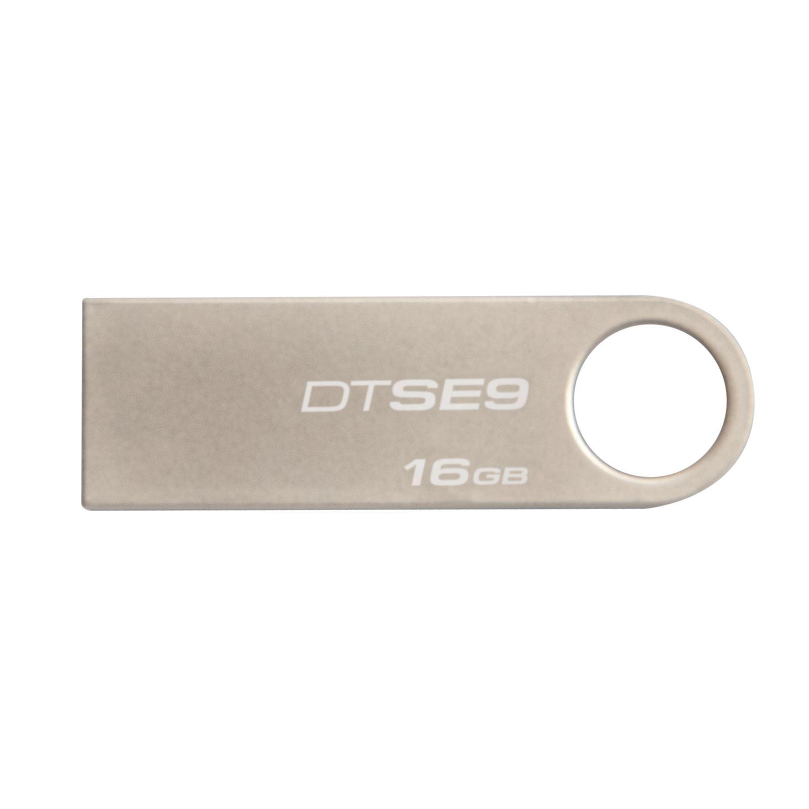 Memoria USB Kingston DataTraveler SE9 16GB USB 2.0 Plata