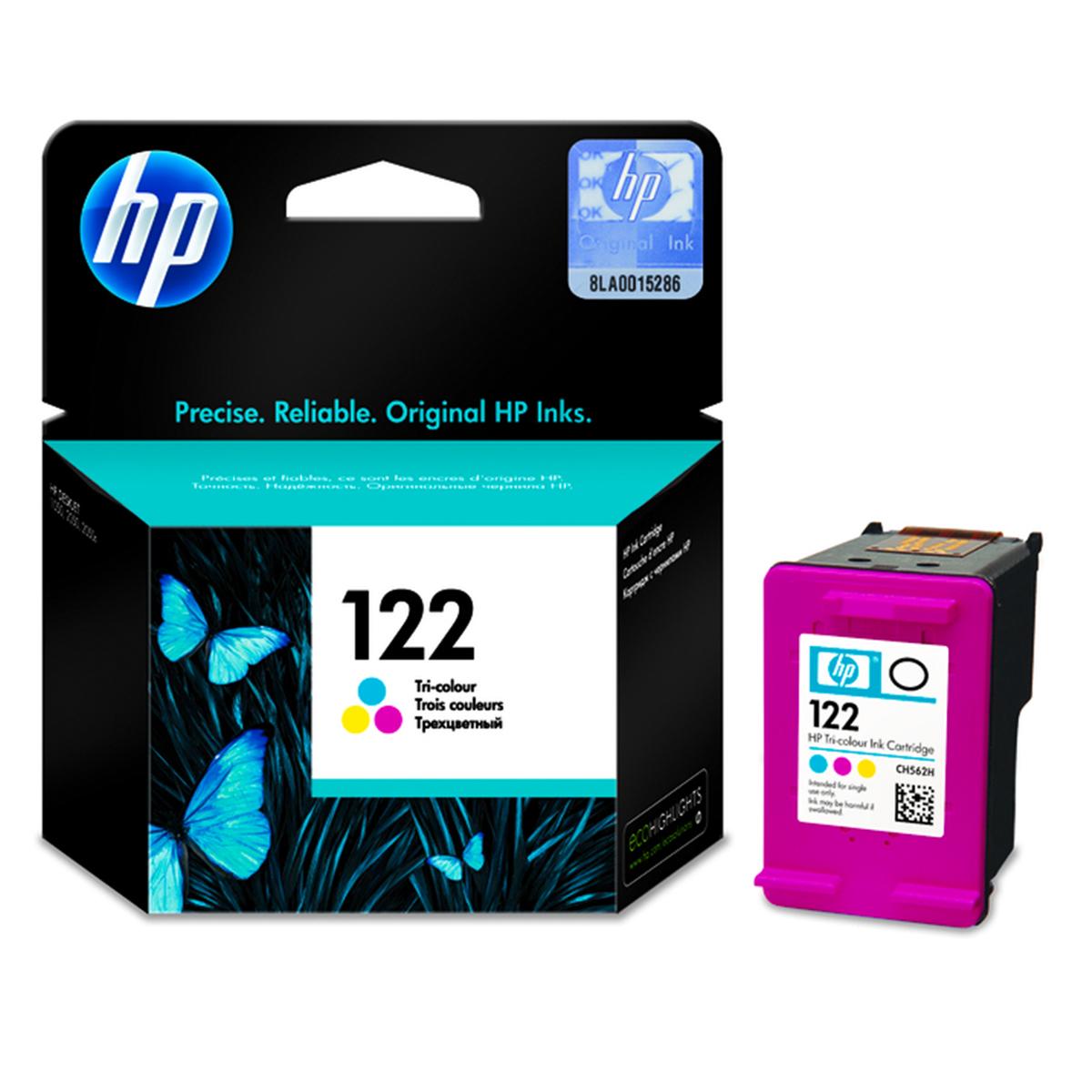 Cartucho de Tinta HP Tri- Color 122
