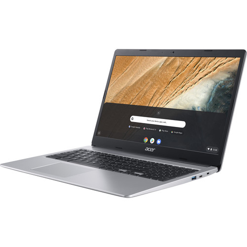 "Acer Chromebook 315 15"" Teclado Ingles Intel Celeron N4000 Memoria RAM 4GB/ 32GB Gris"