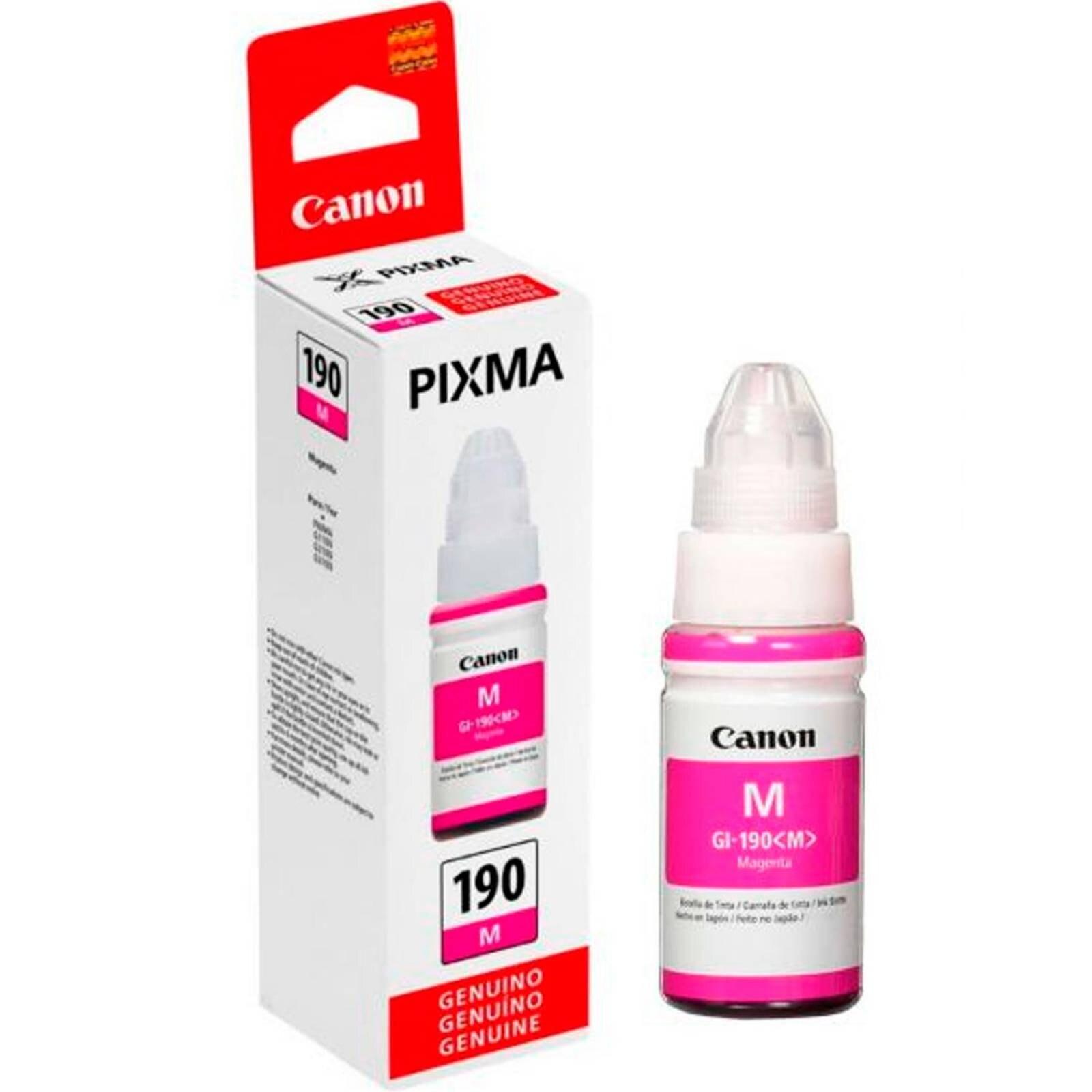 Bote de Tinta Canon Magenta 190