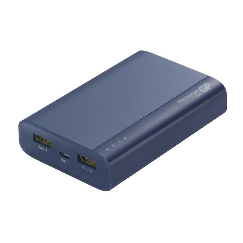 Batería Portátil GP 10000 mAh Azul