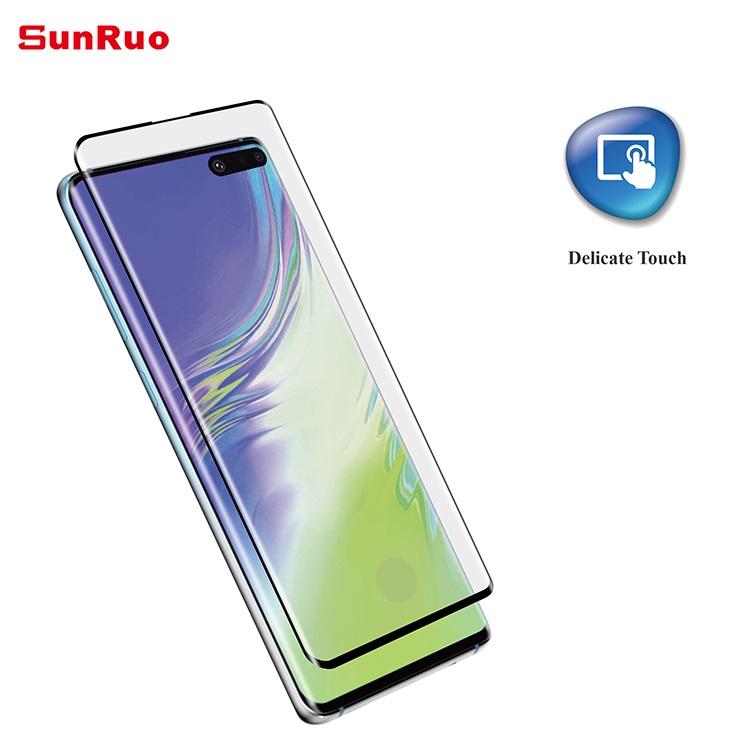 Vidrio Templado Sunruo para Samsung S10+ 3D Curved